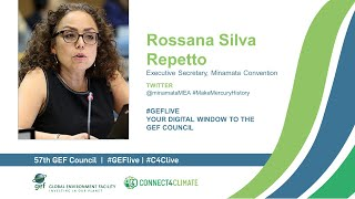 Rossana Silva Repetto at GEF Live - Your digital window to the 57th Council