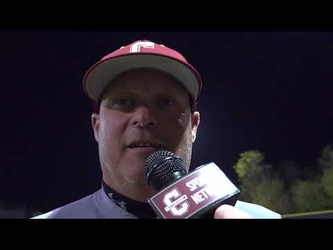CofC Baseball vs William & Mary Game 1 - Post Game Interview with Chad Holbrook