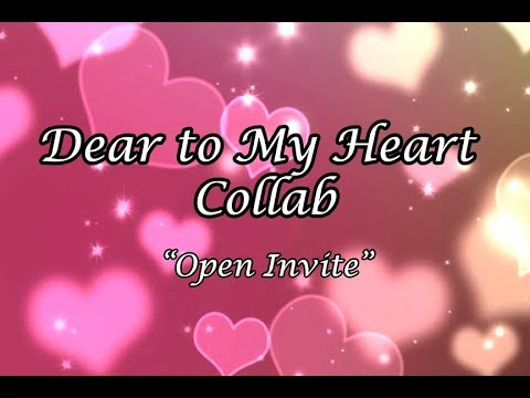 """Dear to My Heart"" Collab - Open Invite w/ Hostedbykrssie and Laugh Love Shop"