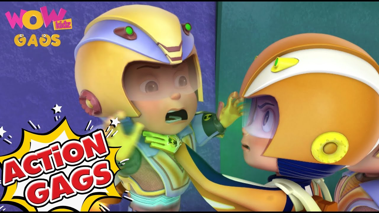 Vir The Robot Boy In Hindi | New Action Gags -20| Cartoons for Kids | Wow Kidz Gags