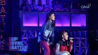 Bianca Umali & Kyline Alcantara perform ExB's 'Hayaan Mo Sila' | Lip Sync Battle Philippines