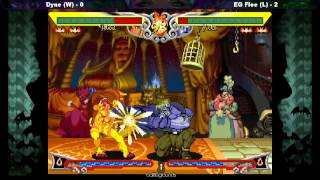Dyne vs EG Flow (GRAND FINALS) - Darkstalkers Resurrection Week 1 Tournament