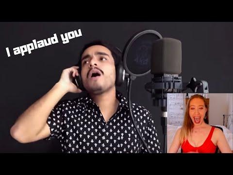 Download Singer reacts Gabriel Henrique Oh Happy Day
