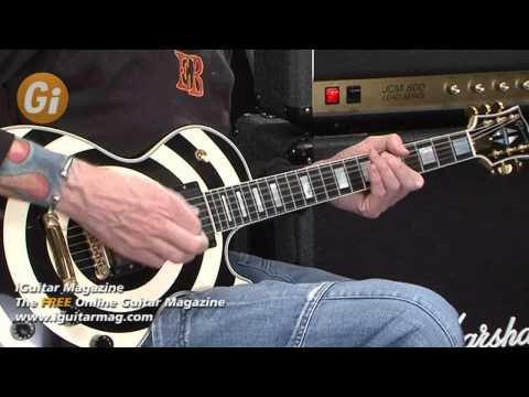 Zakk Wylde Signature Gibson Les Paul Guitar Review With Jamie Humphries iGuitar Magazine