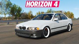 Horizon 4 | Street Racing - BMW e39 prépa 1230 chevaux !