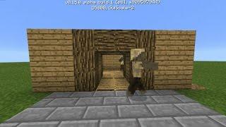 Механизмы minecraft 0.15.0| Дверь из поршней(Механизм - http://vk.com/wall-109487925_855., 2016-06-04T11:08:18.000Z)