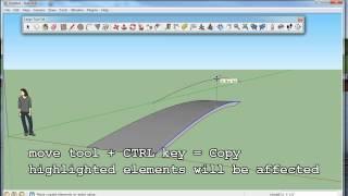 Getting Started in Google Sketchup for Engineers Part 1 - Park Bridge