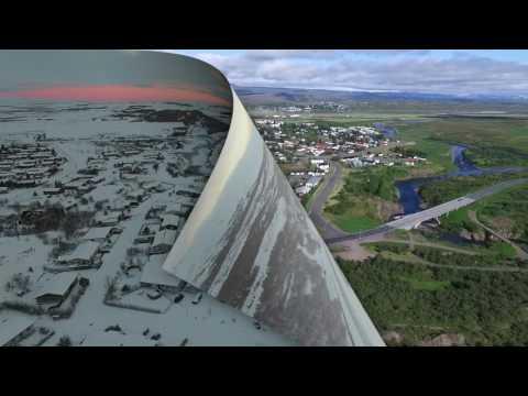 Egilsstaðir - summer and winter