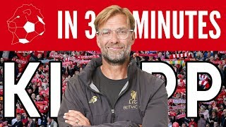 Jürgen Klopp in 3 Minutes