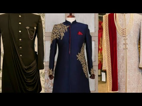 Sherwani designs and Style video 2019