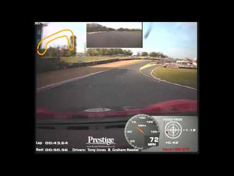 Ferrari 430 GT3 (onboard) Racing in Pirelli Ferrari Open at Brands Hatch Indy 4 May2014