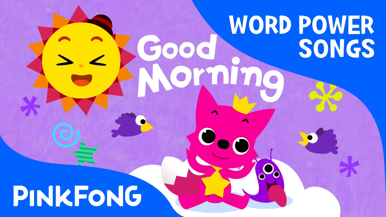 Good Morning Baby Japanese Version : Good morning word power pinkfong songs for children