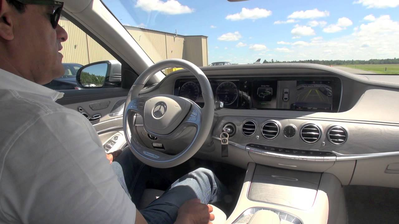 2014 Mercedes-Benz S Class with Active Parking Assist