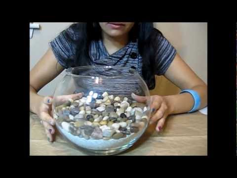 DIY: Make your own table center piece / home decor/ beach theme/ Shells