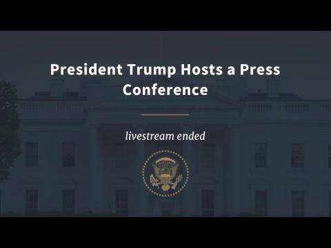 WATCH LIVE: President Trump Hosts a Post-Midterm Press ...