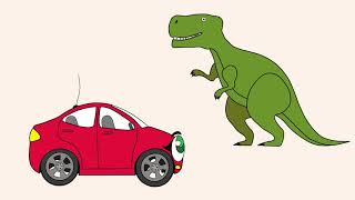 Das Malbuch Hupi-Hup. Folge 5. Die Dinosaurier.