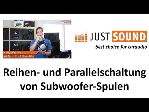 Reihenschaltung und Parallelschaltung von Subwoofer Schwingspulen ...