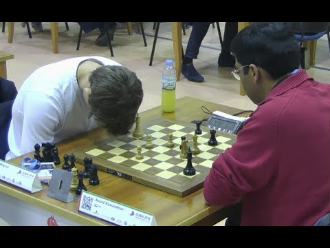 SHOCKING!!! MAGNUS CARLSEN MADE TERRIBLE BLUNDER AGAINST VISWANATHAN ANAND | RAPID CHESS 2014