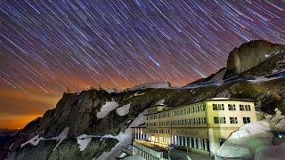 Beautiful Timelapse Looks Likes Raining Stars