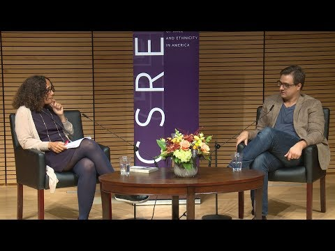 Chris Hayes in conversation with Professor Tricia Rose at Brown University