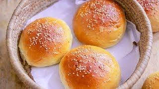 Eggless Bun Recipe  Homemade Bun Recipe  Burger Bun Recipe
