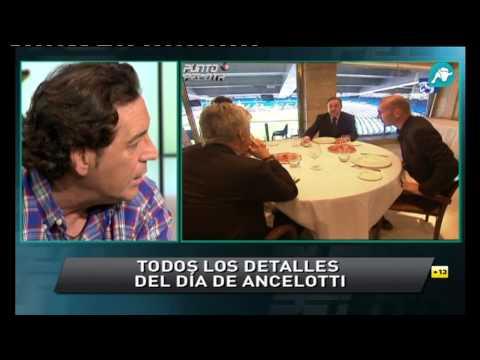 Punto Pelota analiza el día de la presentación de Carlo Ancelotti con el Real Madrid