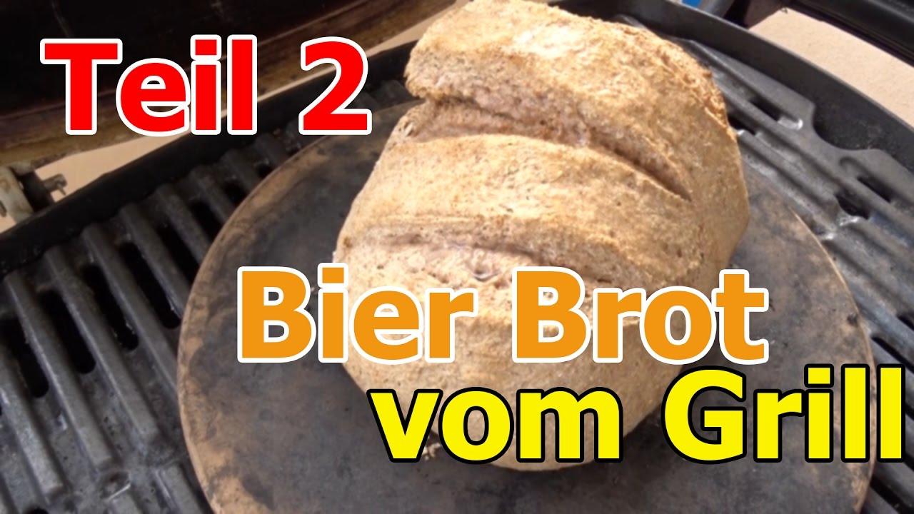 Weber Elektrogrill Pizzastein : Bier brot grillen auf dem weber pizzastein teil weber q