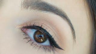 """6 Formas de hacer el delineado tipo """"linea de  gato"""" para principiantes (cat eye liner)"""