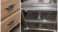 2017 MIRROR NIGHTSTAND DUPE/ZGALLERIE DUPE/DOLLAR TREE DIY/ZGALLERIE DECOR/DIY ROOM DECOR/CHYMARIE