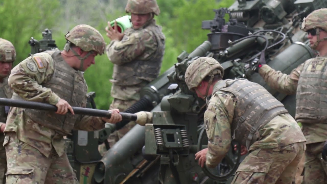 US Military News • US Army Artillery Unit Conducts First-Ever US Live-Fire in Croatia • 22 May 2021