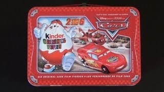 Kinder Überraschung - Disney Pixar Cars (Metallkoffer) (Metal Bag / Case)