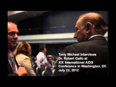 "HIV ""co-discoverer"" Dr. Robert Gallo interviewed 7/22/12 by Terry Michael in Washington, DC"