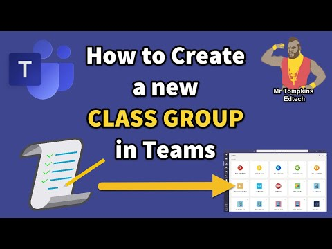 Microsoft Teams - How to Create a Class / Staff Team for your School / College