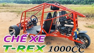 How to make a Three Wheeled Motorcycle Using Kawasaki Z1000 - 1043cc