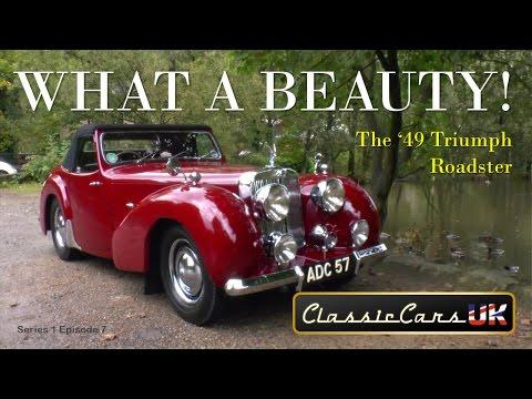 Classic Cars UK S01 E07: '48 Triumph Roadster