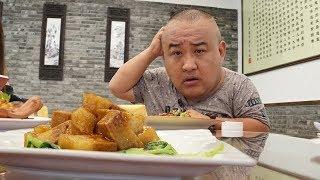 【吃货请闭眼】用豆腐做的东坡肉?肥瘦相间超逼真!扬州最有名的素菜馆!
