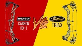 Hoyt REDWRX Carbon RX-1 VS Mathews Triax | Strong Shot Archery Reviews
