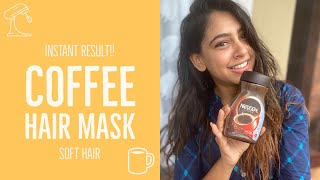 Coffee Hair Mask Soft Hair instant results