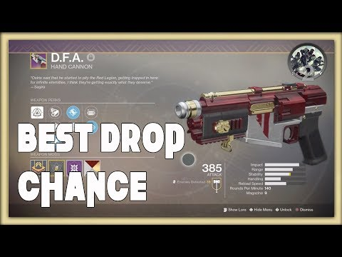 Destiny 2 - Guaranteed D.F.A Drops ( DO NOT WASTE YOUR TIME )