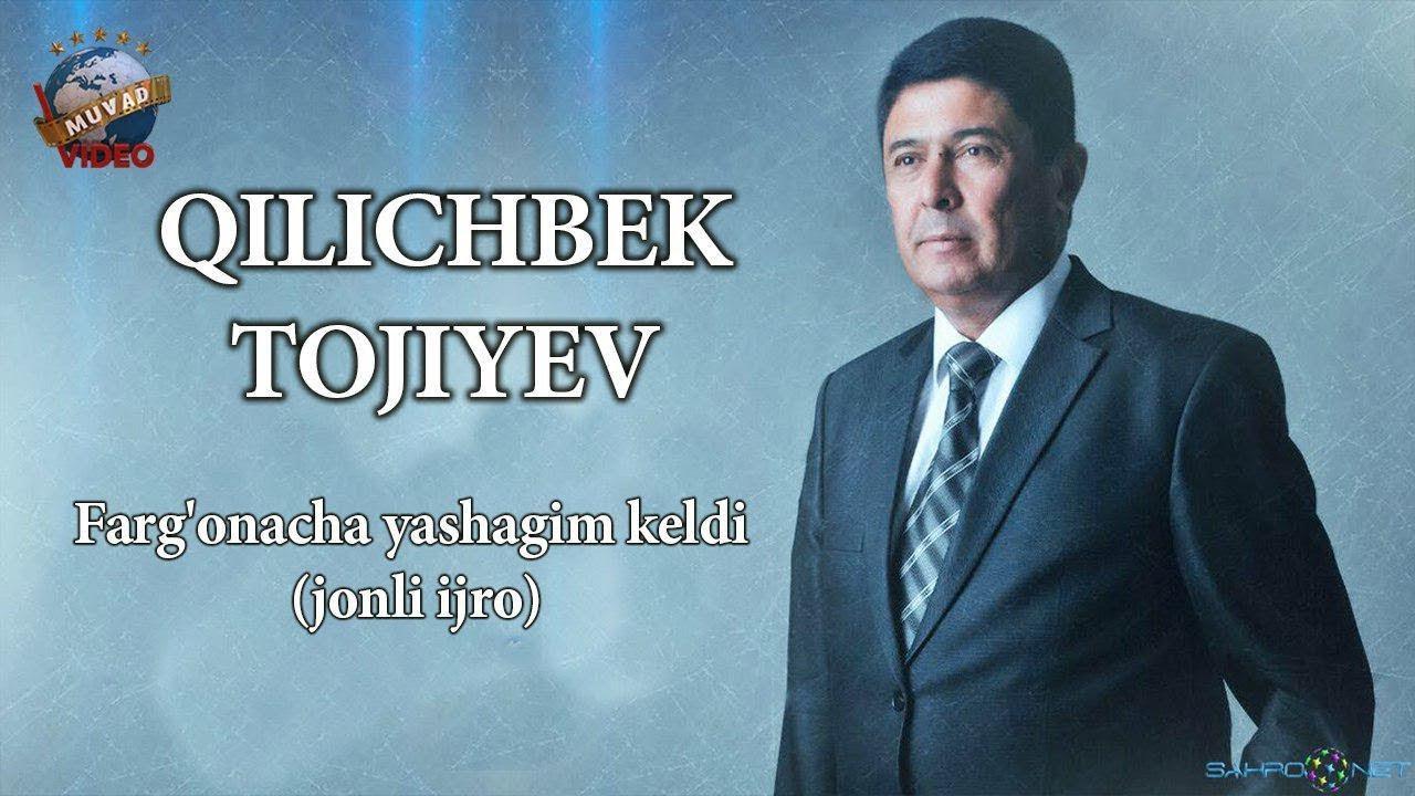 Qilichbek Tojiyev - Farg'onacha yashagim keldi (jonli ijro)