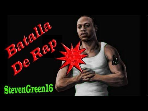 GTA San Andreas Loquendo -  Cj Participa en una batalla de Rap