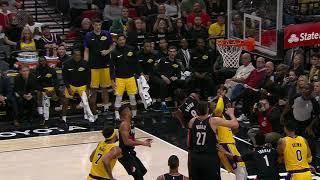 Los Angeles Lakers vs Portland Trail Blazers : November 3, 2018