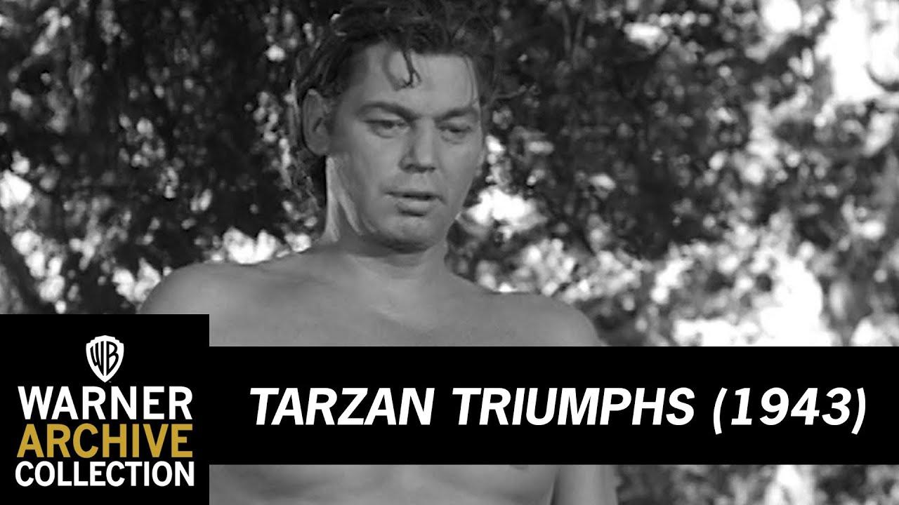 Download Tarzan Feeds Nazi To Lion | Tarzan Triumphs | Warner Archive