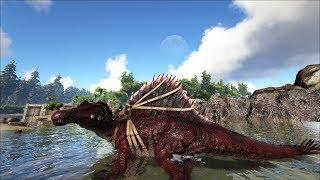 ARK: Survival Evolved - Уроки выживания. Урок 122. Прокачиваем спинозавра.