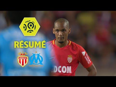 AS Monaco - Olympique de Marseille (6-1)  - Résumé - (ASM - OM) / 2017-18