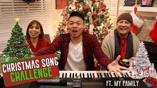 Repeat youtube video Christmas Song Challenge ft. My Family!!! | AJ Rafael