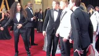 Allen Leech, Ben Hardy, Gwilym Lee and Joseph Mazzello in Moving photo in The Oscars