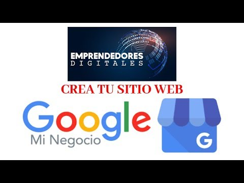 Video Tutorial I Google Mi Negocio My Business Crea tu sitio web I #EmprendedoresDigitales thumbnail