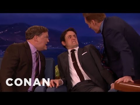 Zach Woods, Conan & Andy Play