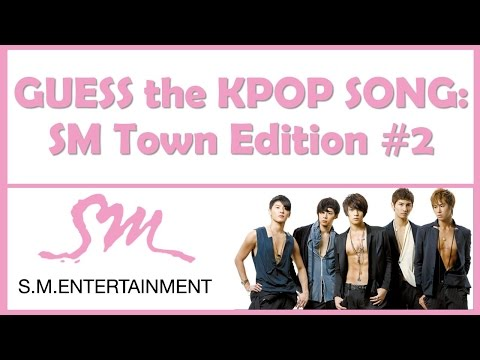 Guess the Kpop Song: SM Town Edition #2